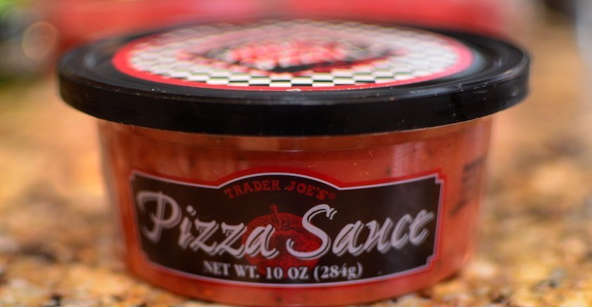 Trader Joe's refrigerated pizza sauce