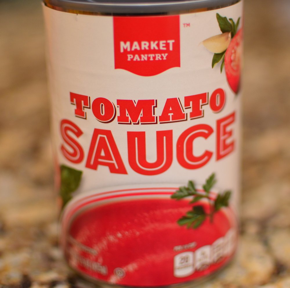 1 can tomato sauce