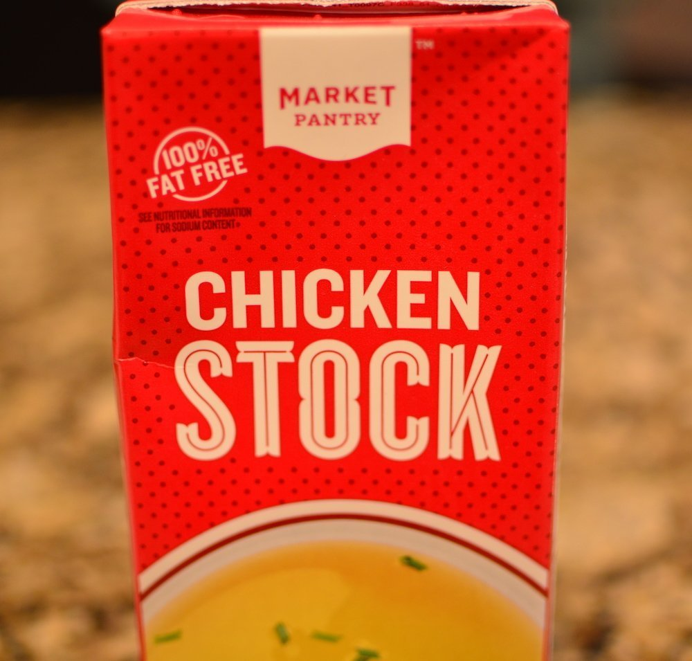 Market Pantry chicken stock