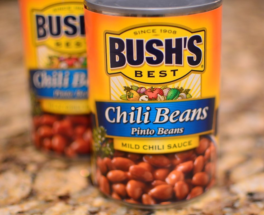 Busch's mild pinto chili beans