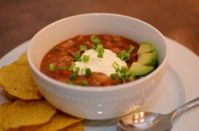 Weeknight Turkey Chili