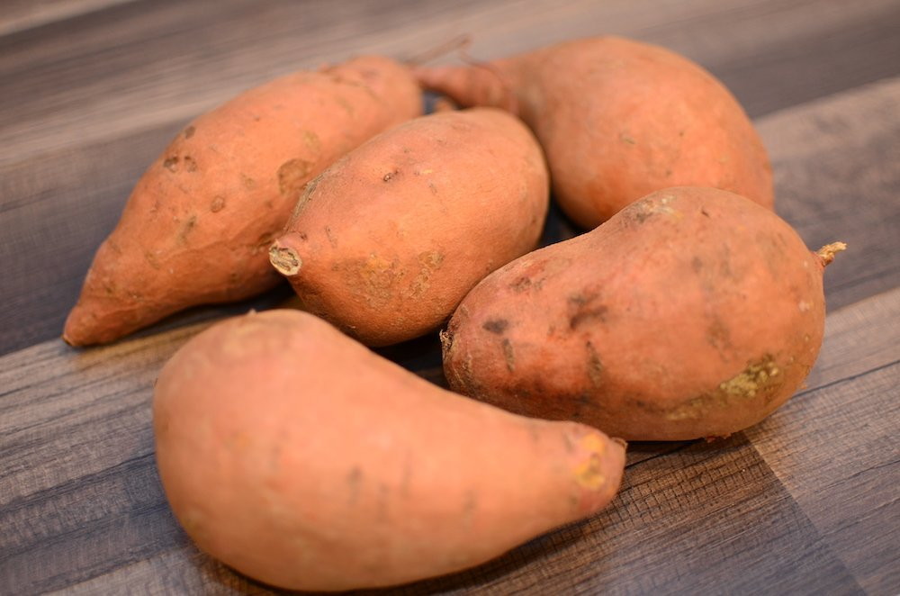 5 Medium sweet potatoes