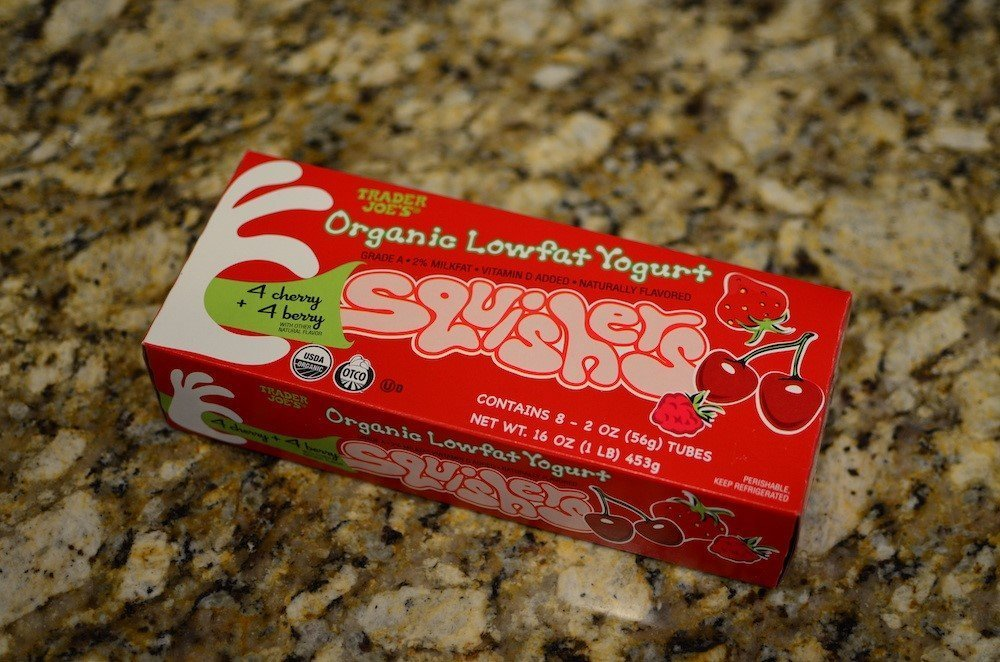 Trader Joe's yogurt squishes