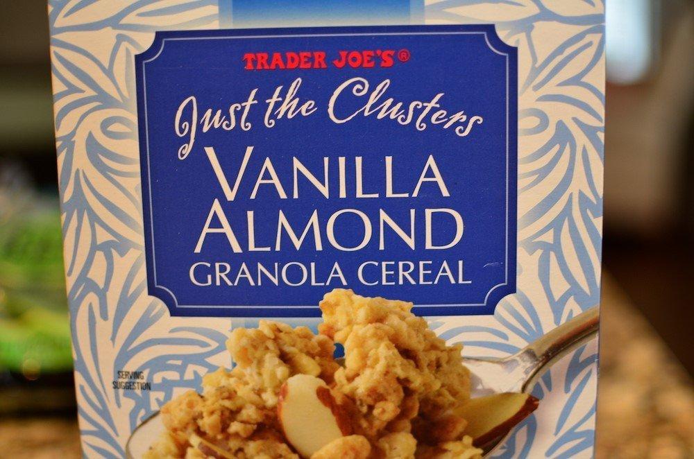 Trader Joe's Vanilla almond just the clusters granola