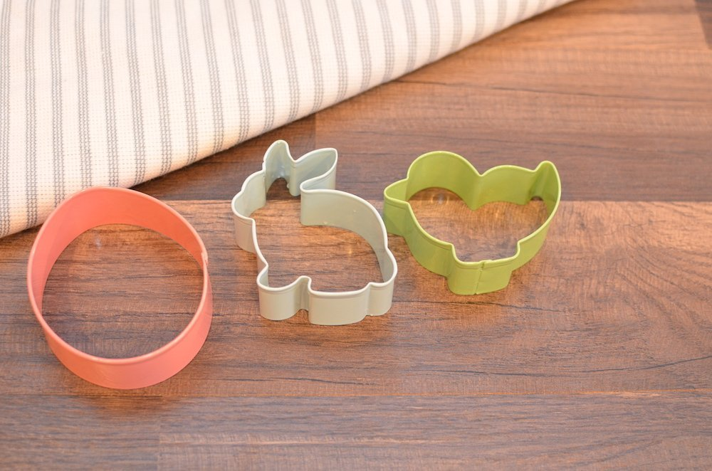Easter shaped cookie cutters