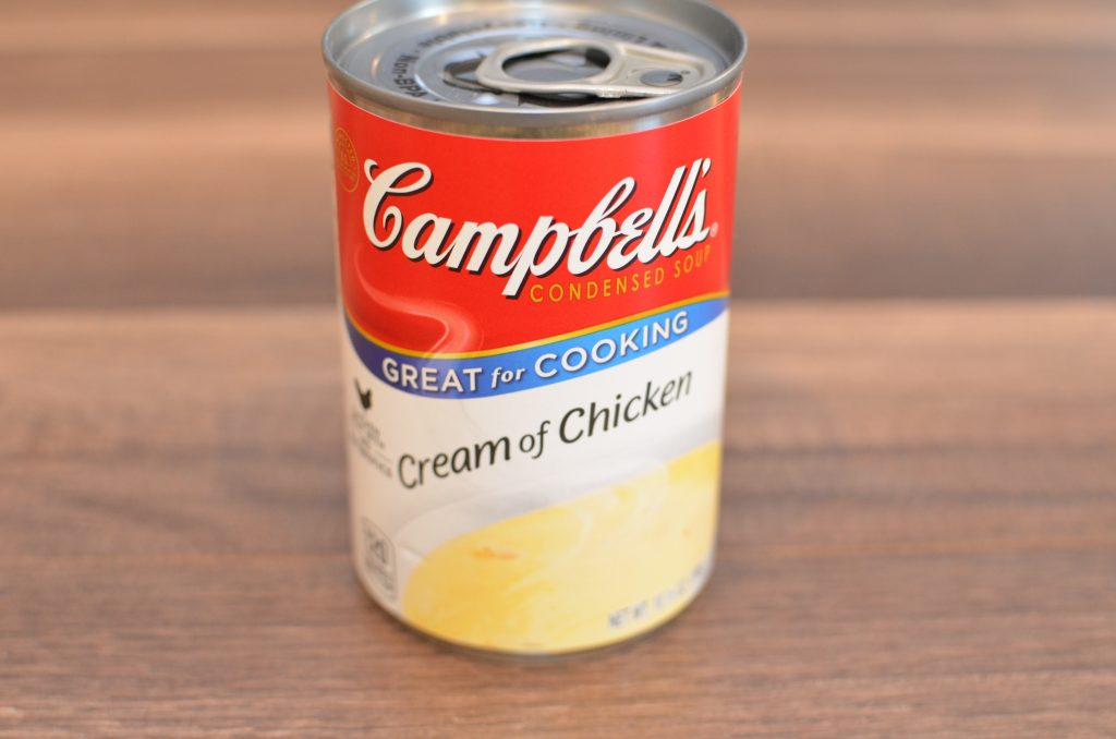Can of cream of chicken soup