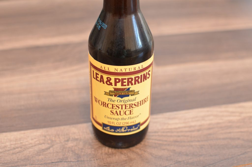 1 bottles of Worcestershire sauce