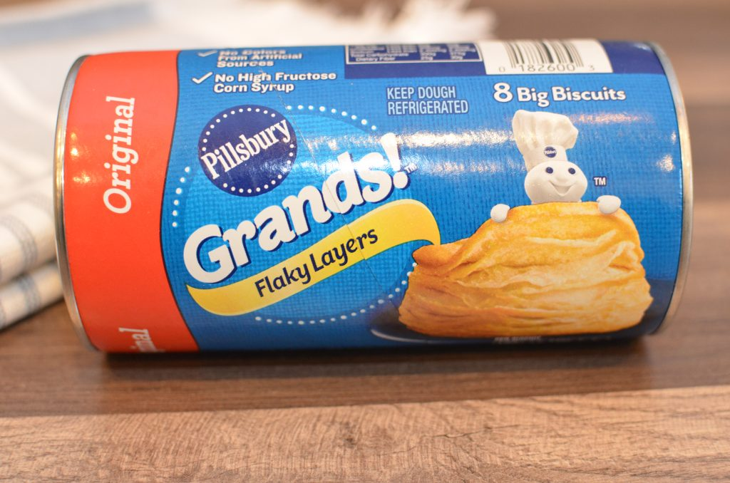 Pilsbury Grands canned biscuits