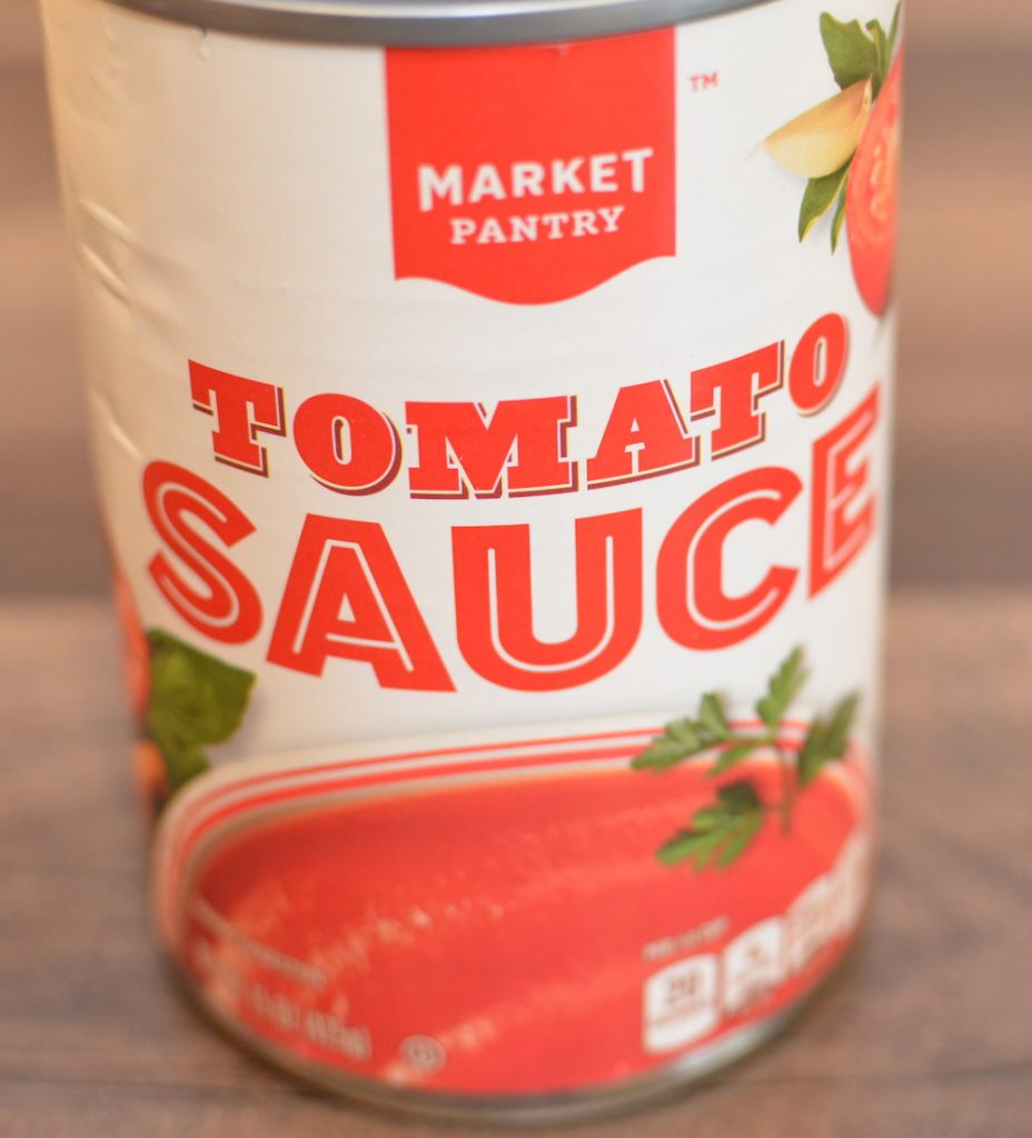 1 15 oz can tomato sauce