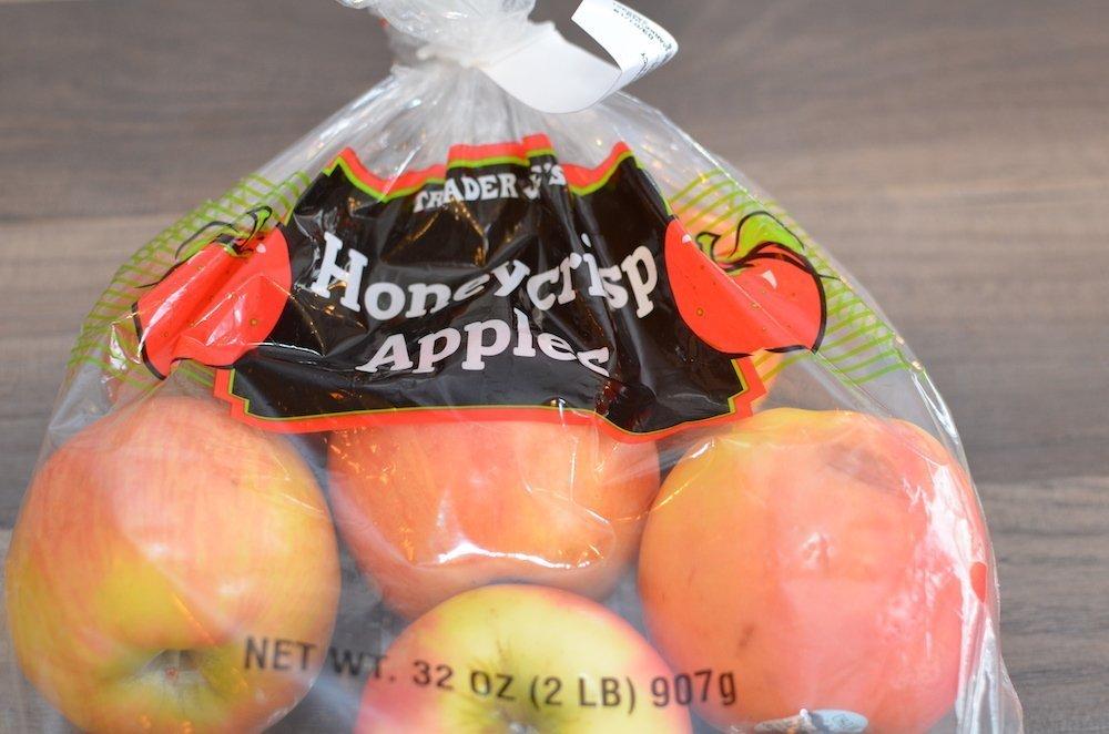 2lb bag of honeycrisp apples included in favorites from Trader Joe's