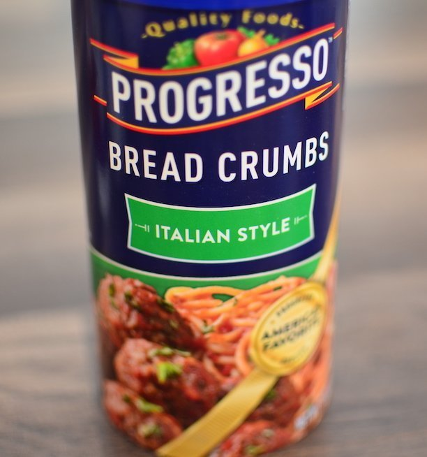 Progresso Italian style breadcrumbs for weeknight mini turkey meatloaves