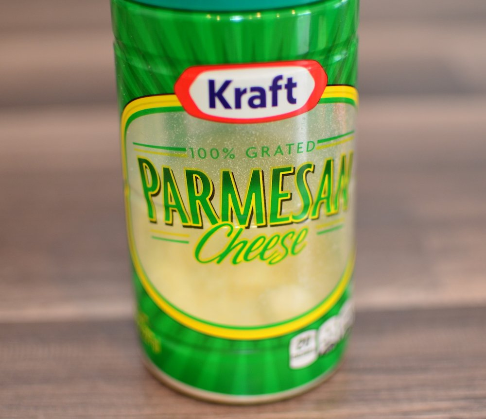 1 container parmasean cheese