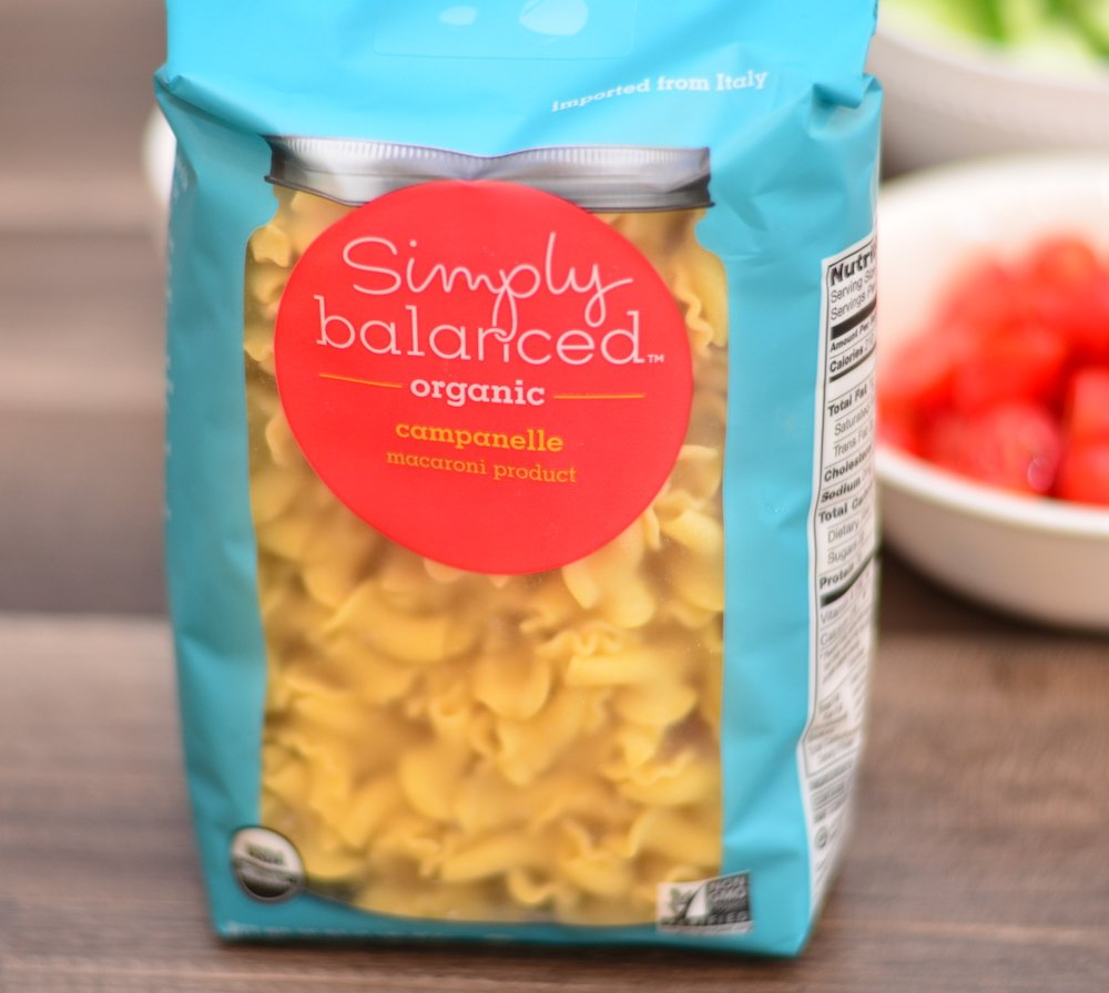 1 lb bag of campanelle pasta for chicken vegetable pasta salad