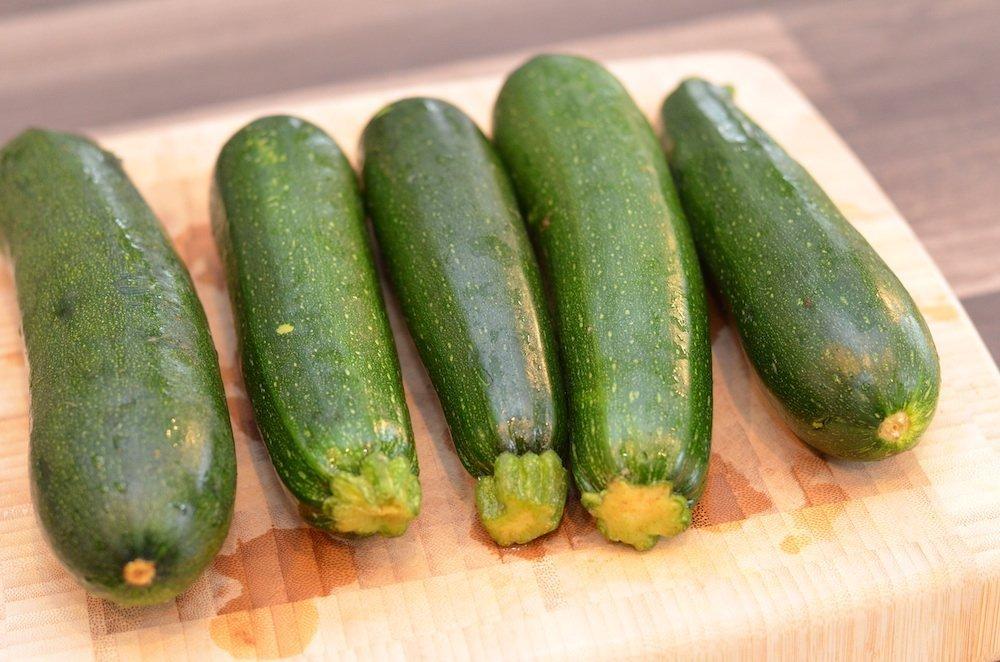 5 Medium zucchinis